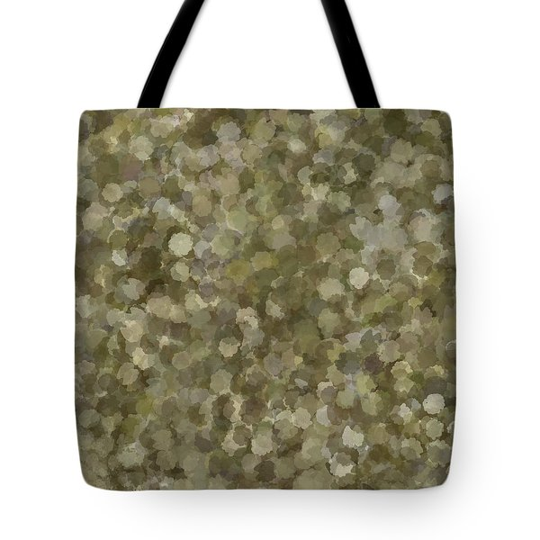 Tote Bag featuring the photograph Abstract Gold And Cream 2 by Clare Bambers