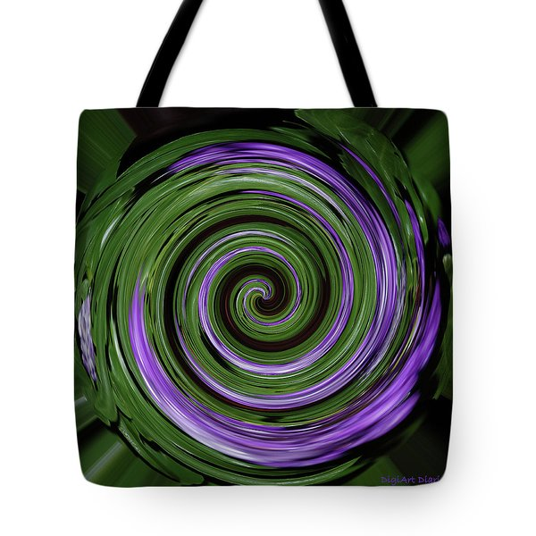 Abstract I Tote Bag by DigiArt Diaries by Vicky B Fuller