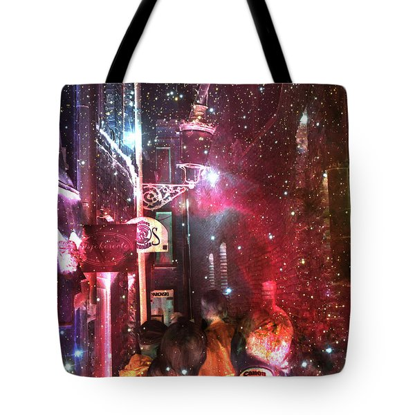 Abstract  Images Of Urban Landscape Series #12 Tote Bag