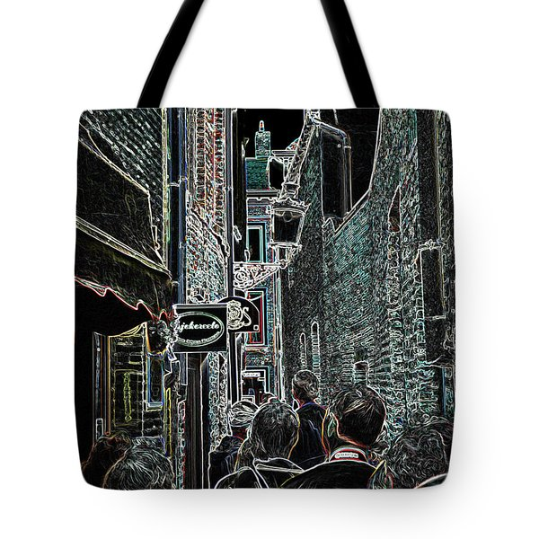 Abstract  Images Of Urban Landscape Series #12b Tote Bag