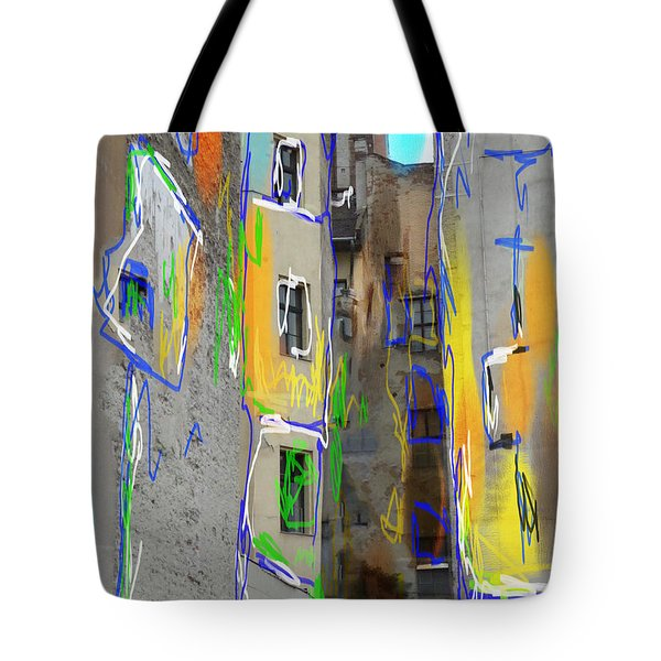 Abstract  Images Of Urban Landscape Series #13 Tote Bag