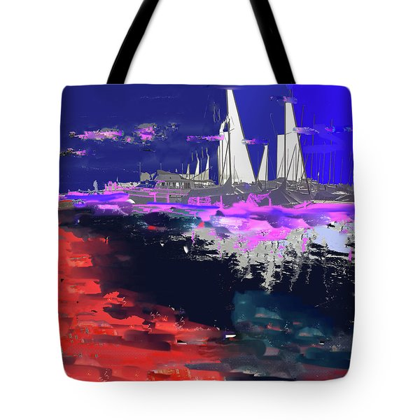 Abstract  Images Of Urban Landscape Series #14 Tote Bag