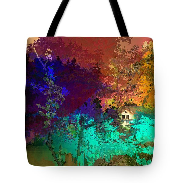 Abstract  Images Of Urban Landscape Series #4 Tote Bag