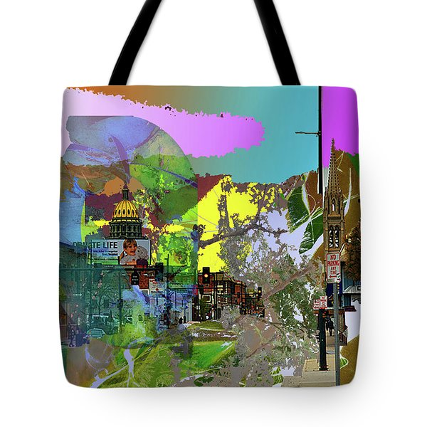 Abstract  Images Of Urban Landscape Series #5 Tote Bag
