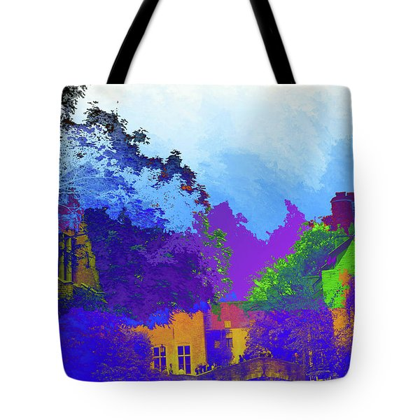 Abstract  Images Of Urban Landscape Series #8 Tote Bag