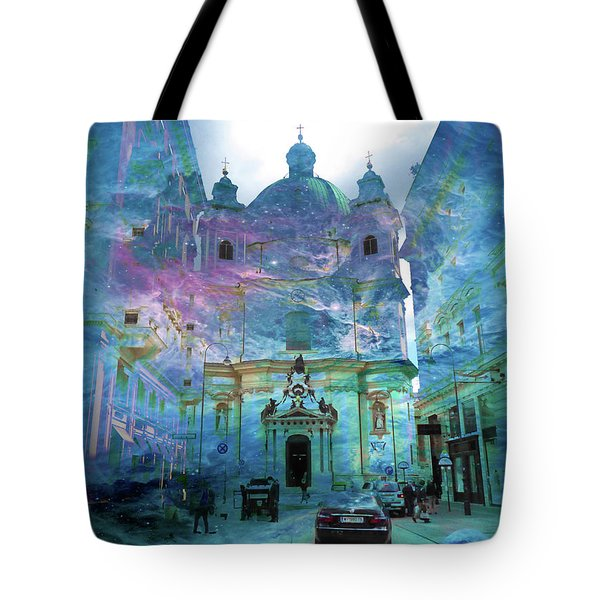 Abstract  Images Of Urban Landscape Series #9 Tote Bag