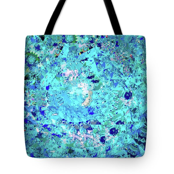 Abstract In Blue No. 56-2 Tote Bag