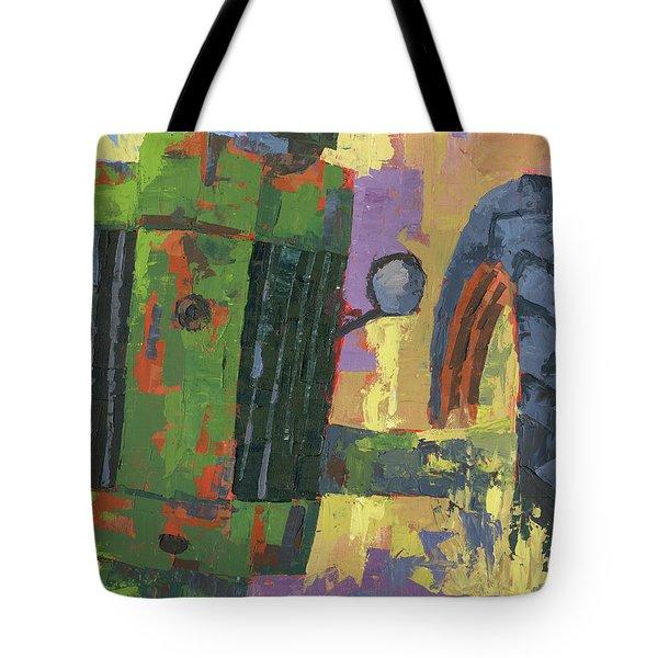 Abstract Johnny Tote Bag