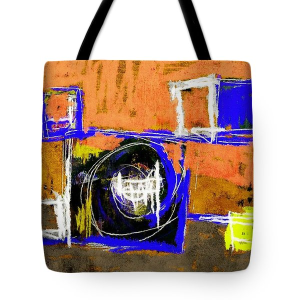 Abstract July 27 2015 Tote Bag by Jim Vance
