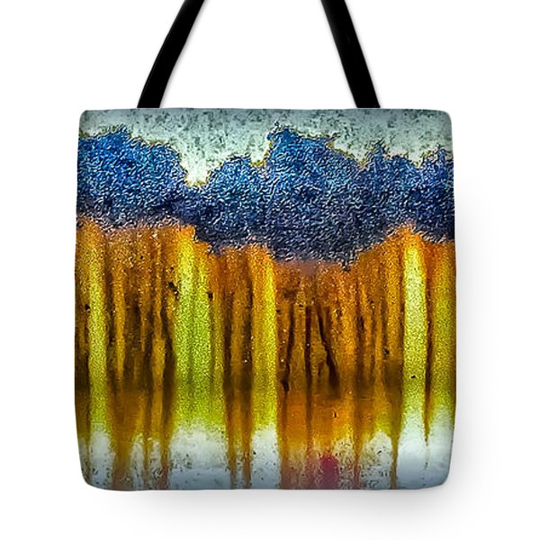 Junkyard Abstract Tote Bag