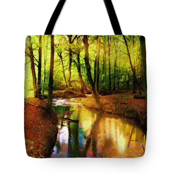 Abstract Landscape 0747 Tote Bag