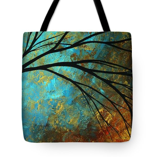 Abstract Landscape Art Passing Beauty 4 Of 5 Tote Bag