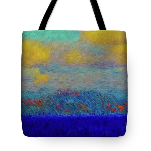 Abstract Landscape Expressions Tote Bag