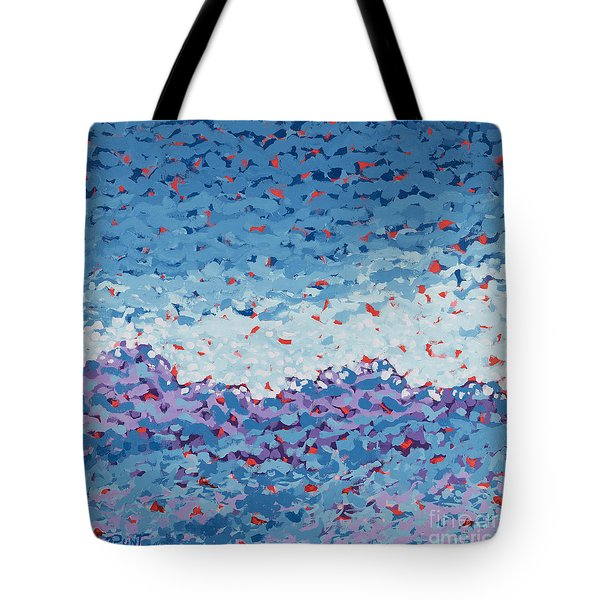 Abstract Landscape Painting 1 Tote Bag