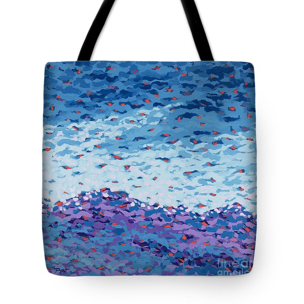 Abstract Landscape Painting 2 Tote Bag