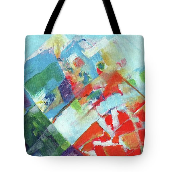 Abstract Landscape1 Tote Bag