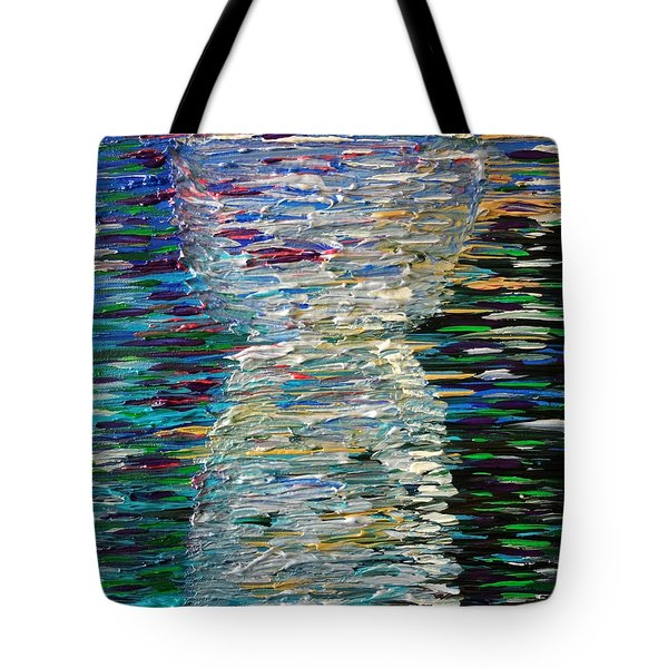 Abstract Latte Stone Tote Bag