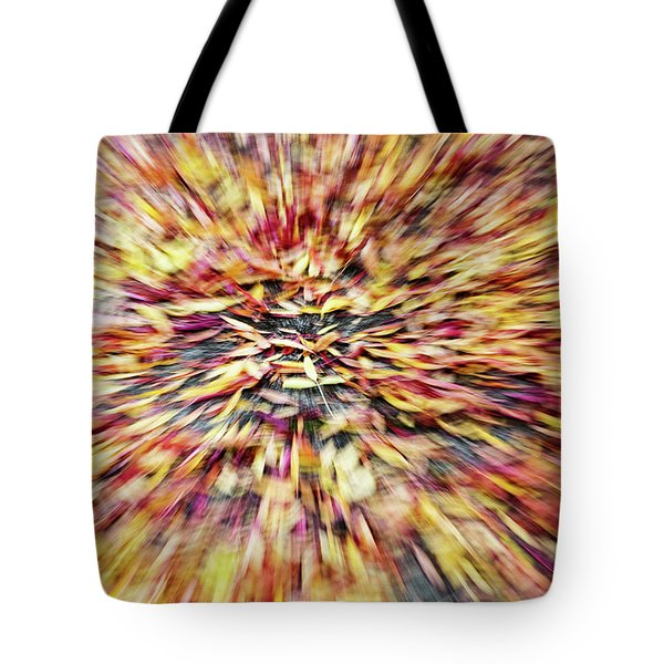 Tote Bag featuring the photograph Abstract Leaves 1 by Rebecca Cozart
