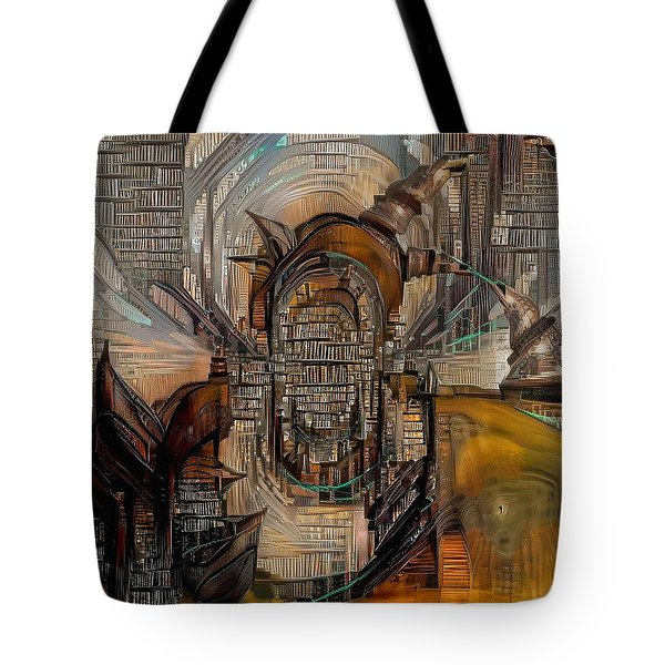 Abstract Liberty Tote Bag
