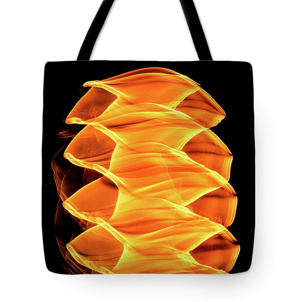 Abstract Light Number 2 Tote Bag