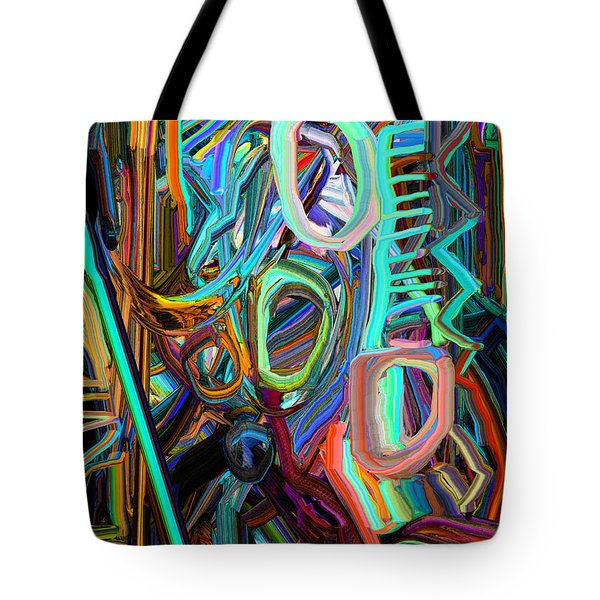 Abstract Line 3 Tote Bag