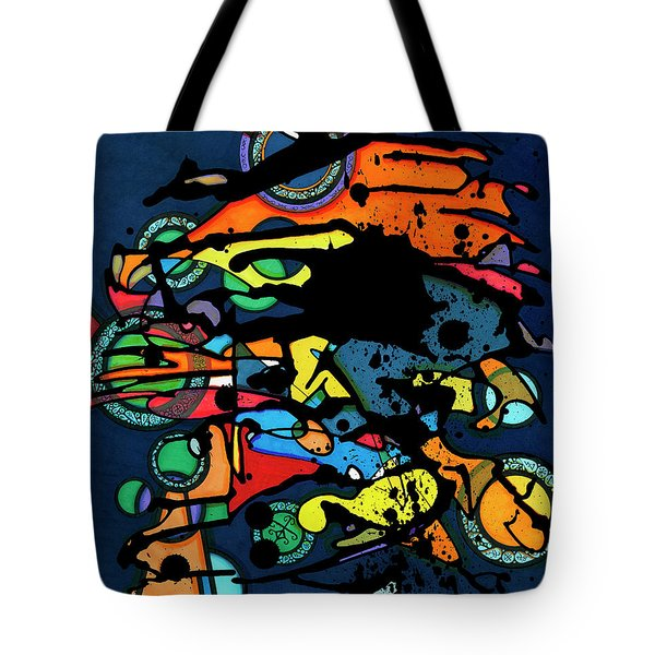 Abstract Man  Tote Bag