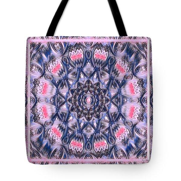 Abstract Mandala Pattern Tote Bag
