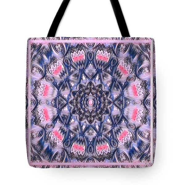 Abstract Mandala Pattern Tote Bag