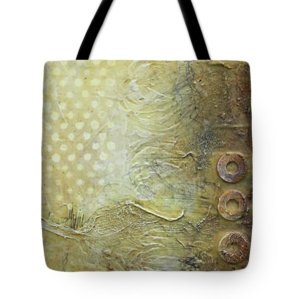 Abstract Modern Art Earth Tones Tote Bag by Patricia Lintner