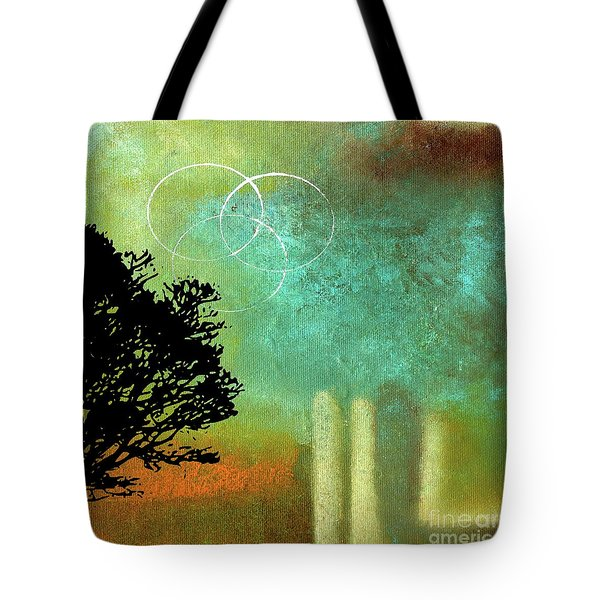 Abstract Modern Art Eternity Tote Bag