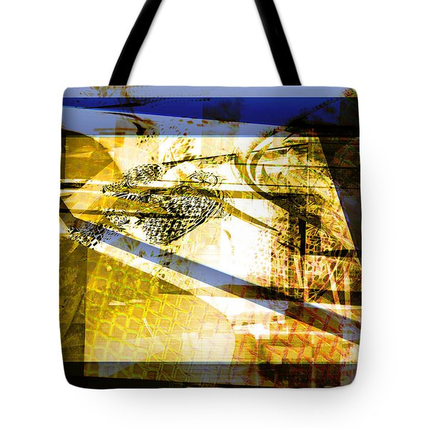 Tote Bag featuring the digital art Abstract Mosaic by Art Di