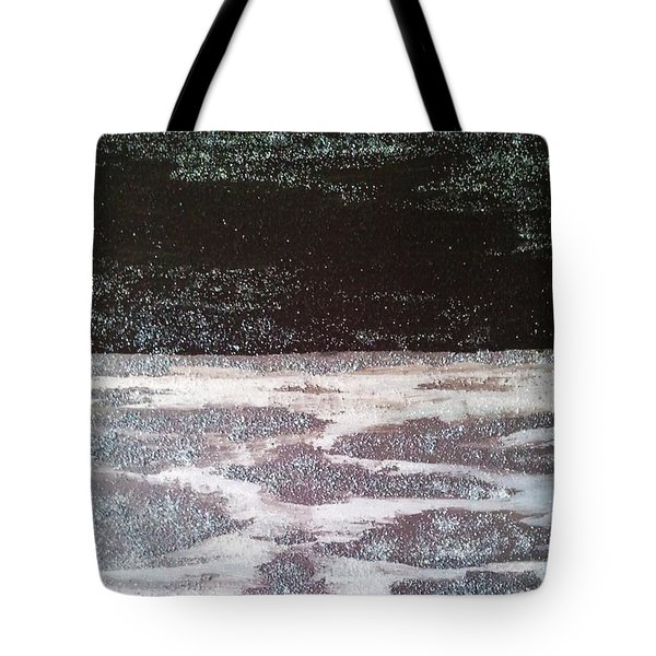 Tote Bag featuring the painting Abstract Nail Polish Jg7 by Jasna Gopic