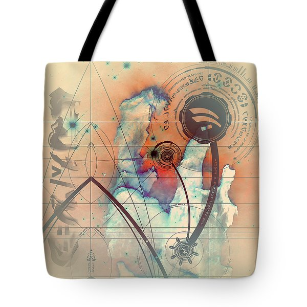 Abstract No 28 Tote Bag by Robert G Kernodle