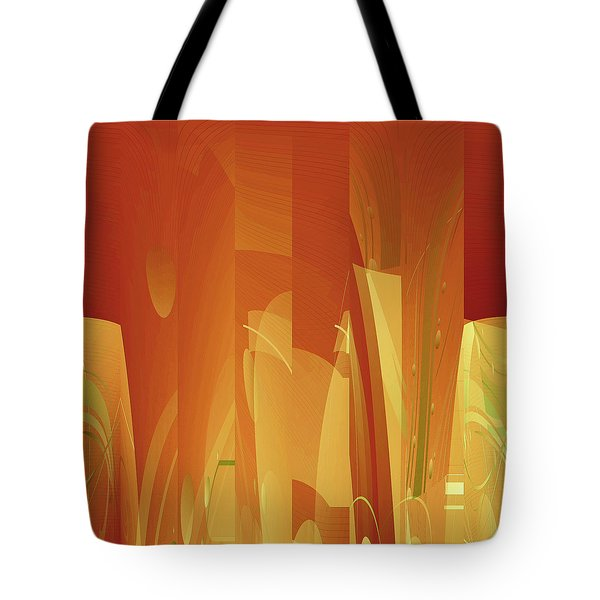 Abstract No 34 Tote Bag by Robert G Kernodle