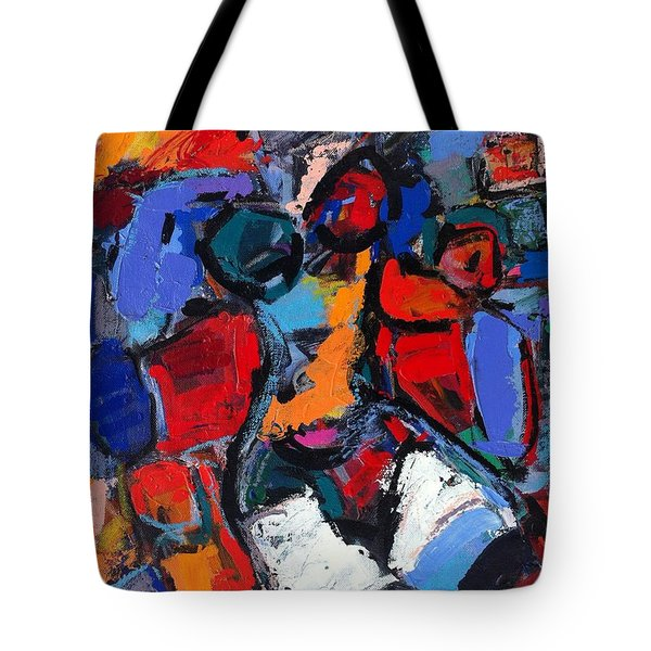 Abstract Nude 05 Tote Bag