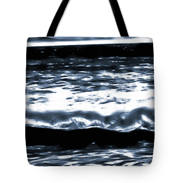 Abstract Ocean Tote Bag