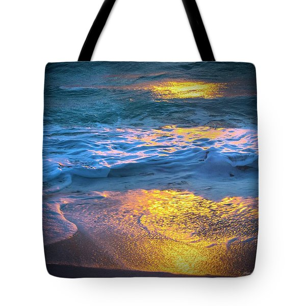 Abstract Of Beach Tote Bag