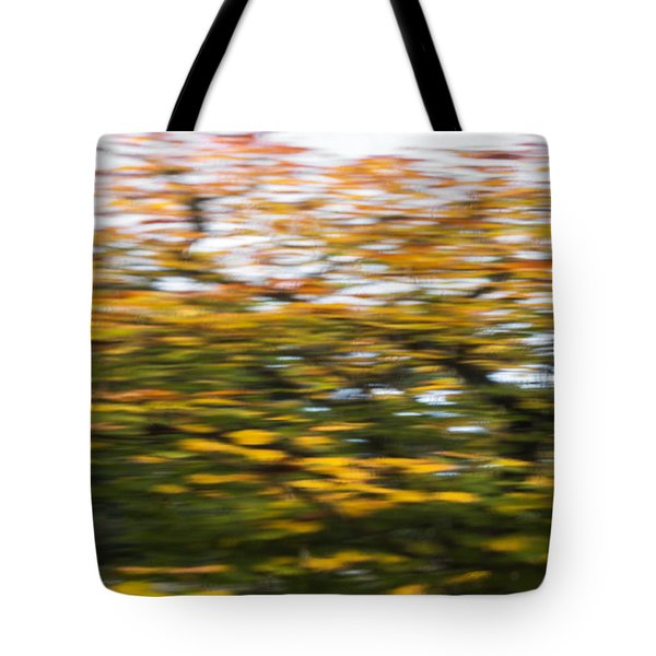 Abstract Of Maple Tree Tote Bag