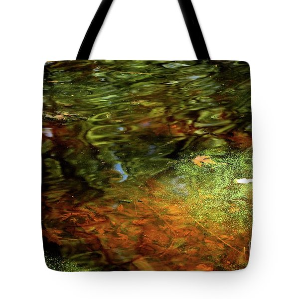 Abstract Of St Croix River 04 Tote Bag