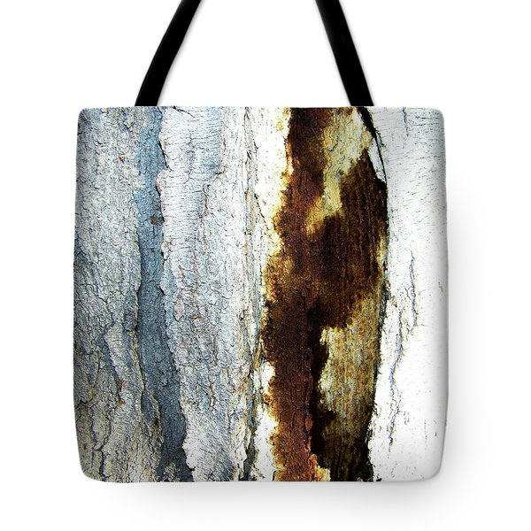 Tote Bag featuring the photograph Abstract One by Lenore Senior