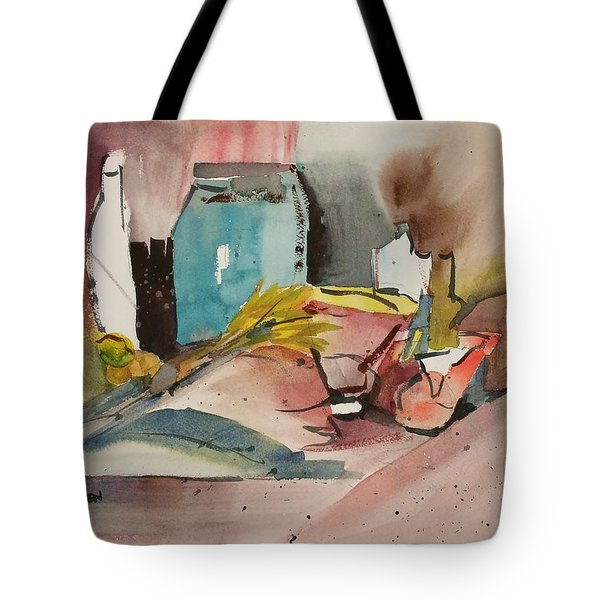 Abstract Opus 3 Tote Bag