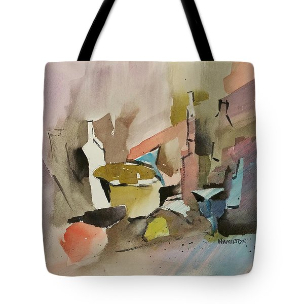 Abstract Opus 4 Tote Bag