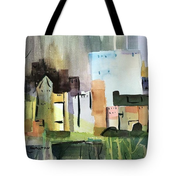 Abstract Opus 5 Tote Bag