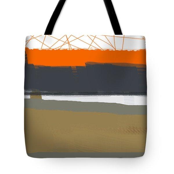Abstract Orange 1 Tote Bag