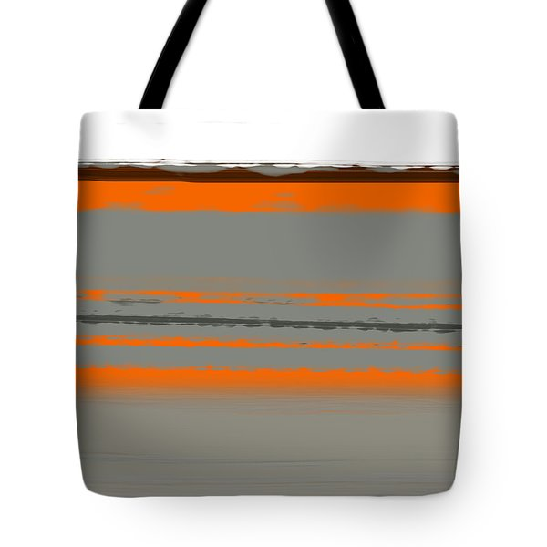 Abstract Orange 2 Tote Bag