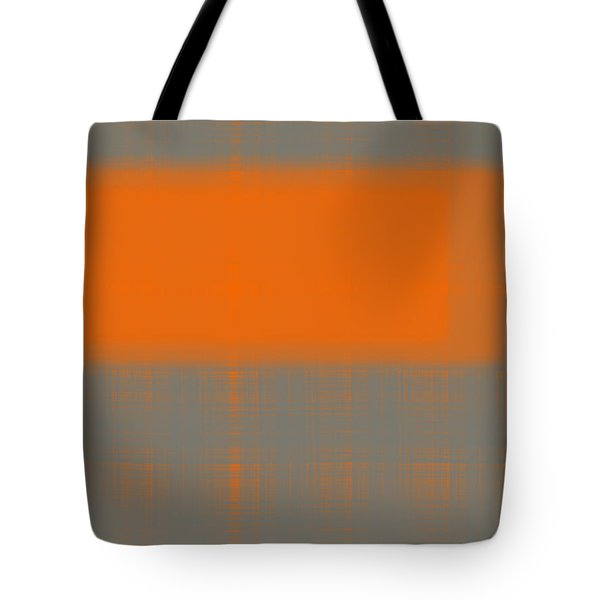 Abstract Orange 3 Tote Bag