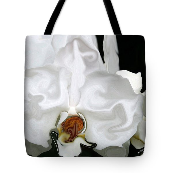 Abstract Orchid  Tote Bag