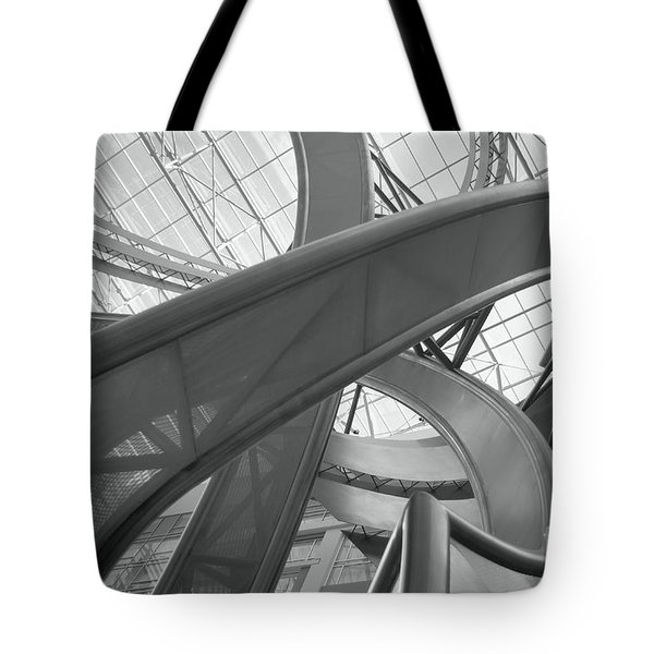 Abstract P O V Tote Bag