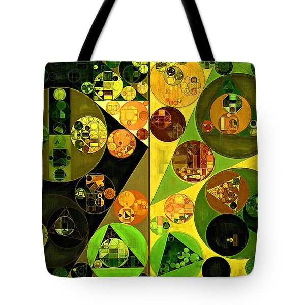 Abstract Painting - Barberry Tote Bag by Vitaliy Gladkiy