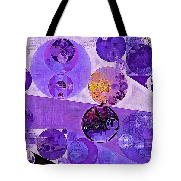 Abstract Painting - Blackcurrant Tote Bag by Vitaliy Gladkiy